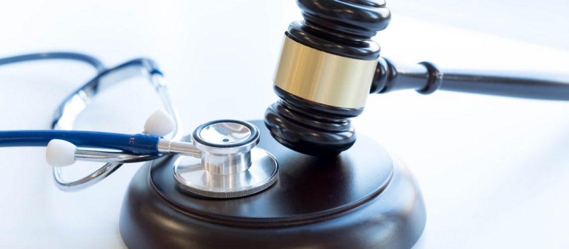 89759310 - gavel and stethoscope. medical jurisprudence. legal definition of medical malpractice. attorney. common errors doctors, nurses and hospitals make.